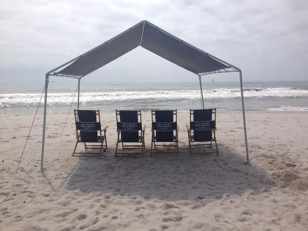 Platinum Shady Beach Bum Package (tent + 4 chairs)
